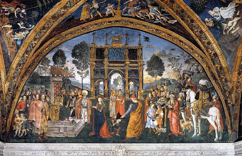 File:Pinturicchio - St Catherine's Disputation - WGA17820.jpg