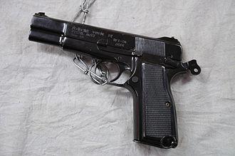 Ordnance Factory Board - Image: Pistol Auto 9 mm 1A Kolkata 2012 01 23 8779
