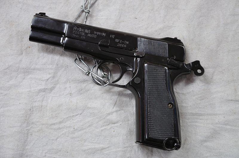 File:Pistol Auto 9 mm 1A - Kolkata 2012-01-23 8779.JPG