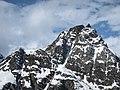 Pizzo Crampiolo Sud 2766m and Pizzo Fizzo 2757m from Sangiatto - Baceno VB, Piemonte, Italy 23-02-2020.jpg