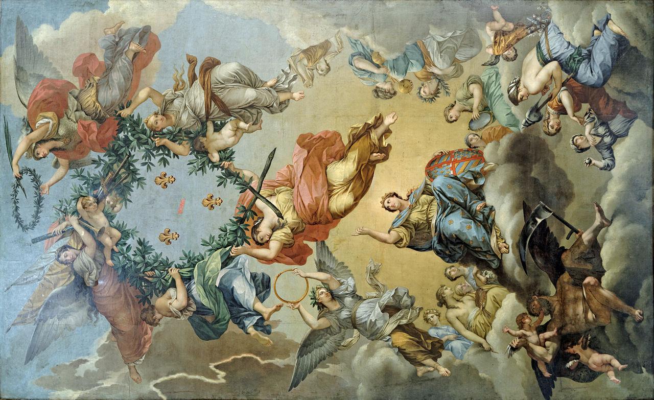 File plafond la gloire du prince de cond pierre paul prud 39 hon mba dijo - Plafond a la francaise ...