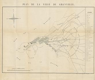 Granville, Manche - Granville in 1846