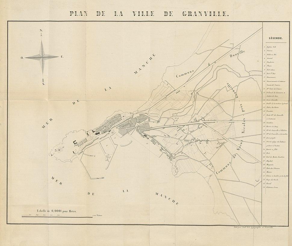 Plan de Granville en 1846