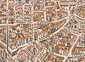 Plan de Paris vers 1550 Rue Montmartre.jpg