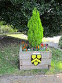 Planter at Pontefract Castle.JPG