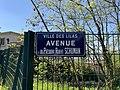 Plaque Avenue Président Robert Schuman - Les Lilas (FR93) - 2021-04-27 - 2.jpg