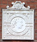 Plaque on the front of Bray and Bray Solicitors - geograph.org.uk - 740214.jpg