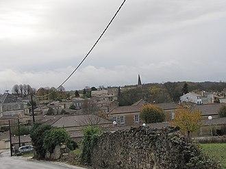 Plassac, Gironde - Image: Plassac 2