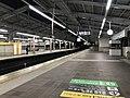 Platform of Tengachaya Station (Nankai).jpg