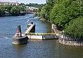 Plavební komora Mánes, z Jiráskova mostu.jpg