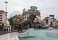 Plaza de Macedonia, Skopie, Macedonia, 2014-04-16, DD 19.JPG