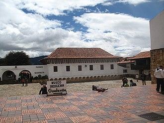 Guatavita - Image: Plaza de guatavita