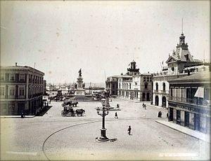 Plaza sotomayor en 1888.jpg