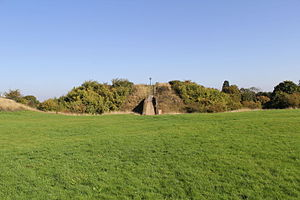 Humphrey de Bohun, 3rd Earl of Hereford - The earthwork remains of Pleshey Castle where Humphrey de Bohun died.