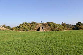 Humphrey de Bohun, 3rd Earl of Hereford - The earthwork remains of Pleshey Castle where Humphrey de Bohun died.
