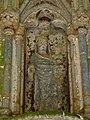 Plouha (22) Chapelle de Kermaria-an-Isquit Porche sud Intérieur 02.JPG