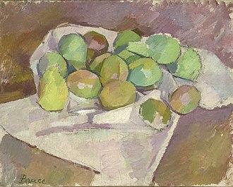 Patrick Henry Bruce - Image: Plums by Patrick Henry Bruce 1912