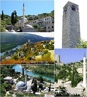 Počitelj, Čapljina Town in Federation of Bosnia and Herzegovina, Bosnia and Herzegovina