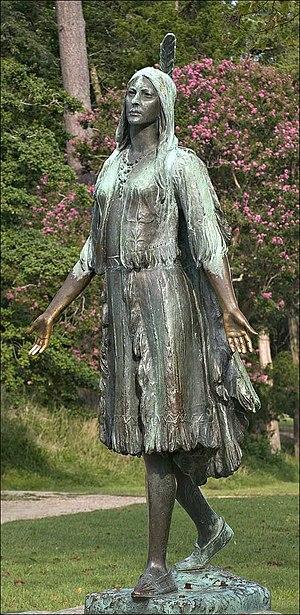 William Ordway Partridge -  Pocahontas, erected in Jamestown, Virginia, 1922
