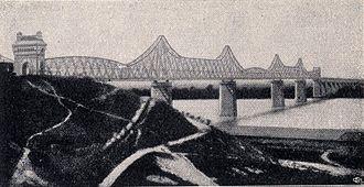 Anghel Saligny Bridge - Image: Podul Cernavoda
