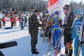 Pokljuka biathlon world cup in 2010, men's individual race podium.jpg