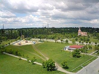 Pokrov, Dnipropetrovsk Oblast - Image: Pokrov, local playground