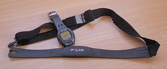 Heart rate - Heart rate monitor with a wrist receiver