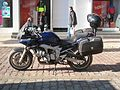 Police motorcycle Northern Cyprus (occupied by Turks).JPG