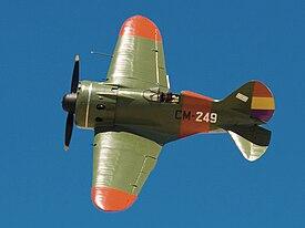 Polikarpov I-16-Spain (clipped and decolored).jpg