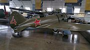 Polikarpov I-16 at Heritage Flight Museum.jpg