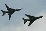 Polish AF Su-22M pair - Volkel 2013 (9152678533).jpg