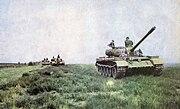 Polish T-54A