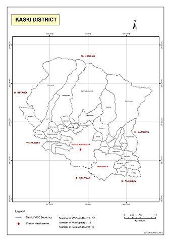 File:Political Map of Kaski District.jpg - Wikipedia on map of rukum, map of bhaktapur, map of surkhet, map of parsa, map of dolpa, map of doti, map of solukhumbu, map of jhapa, map of dailekh, map of gulmi, map of dang, map of baitadi, map of birgunj, map of makwanpur, map of humla, map of dhankuta, map of sindhupalchok,