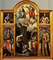 Polittico con adorazione del Bambino e santi, Giovanni Filippo Criscuolo 001.jpg