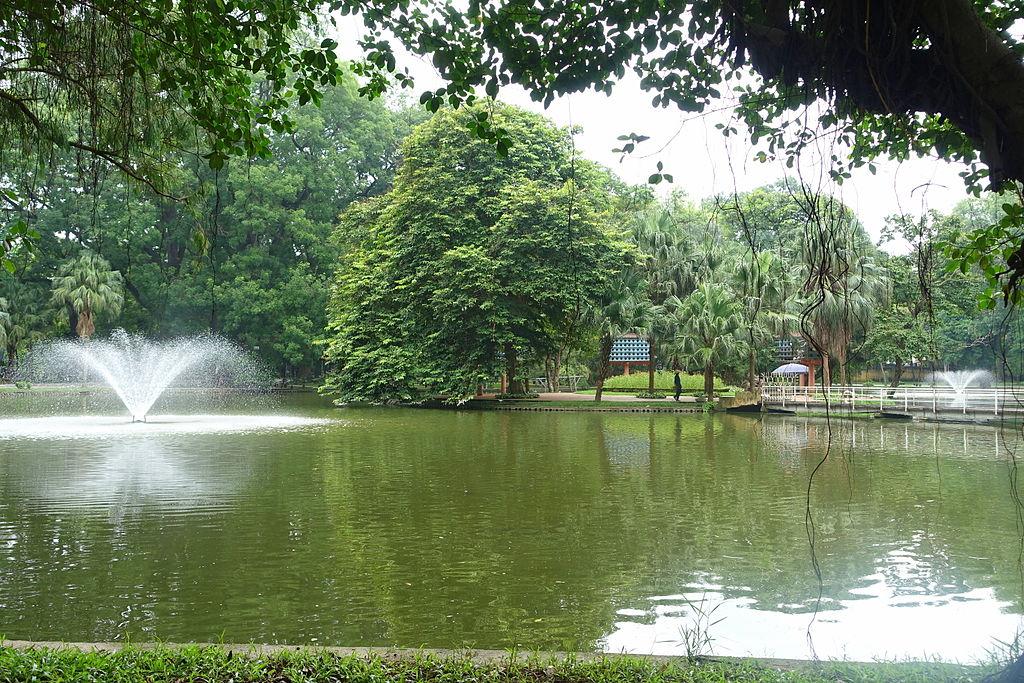 File pond hanoi botanical garden hanoi vietnam for Garden pool hanoi