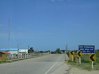 Chuí Stream - Image: Pontearroiochui