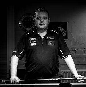 Chris Melling (pool player) - Image: Pool player Chris Melling