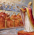 Pope Pius IX at the First Vatican Council (cropped).jpg