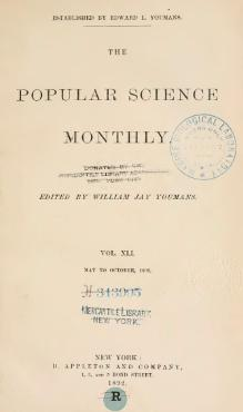 Popular Science Monthly Volume 41.djvu