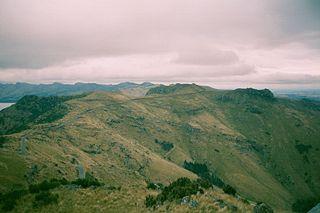 Port Hills mountain range