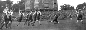 1921 SAFL Grand Final - Image: Port Adelaide Norwood 1923 Adelaide Oval