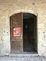 Porte en bois de l'église Saint-Maurice de Saint-Maurice-de-Beynost en septembre 2018 - 35.JPG