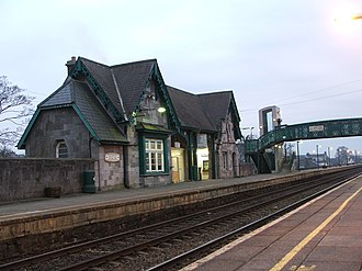 Port Laoise - The railway station