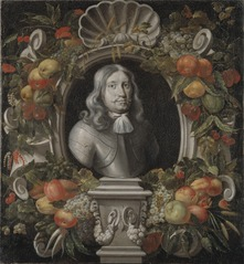 Porträtt, troligen föreställande Gustaf Otto Stenbock, 1614-1685, greve, riksamiral