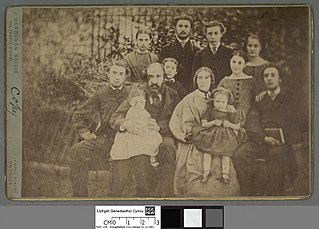 George Stephens & family