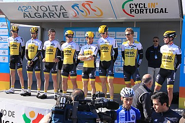Portugal - Algarve - Lagos - 2016 Volta ao Algarve - cycle team (25795019005).jpg