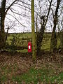 Post box at Cefn y Wern - geograph.org.uk - 129160.jpg