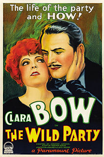 <i>The Wild Party</i> (1929 film) 1929 film by Dorothy Arzner