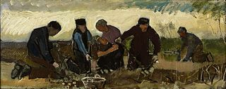 Potato Harvest (Five Figures)