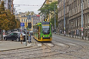 Trams in Poznań